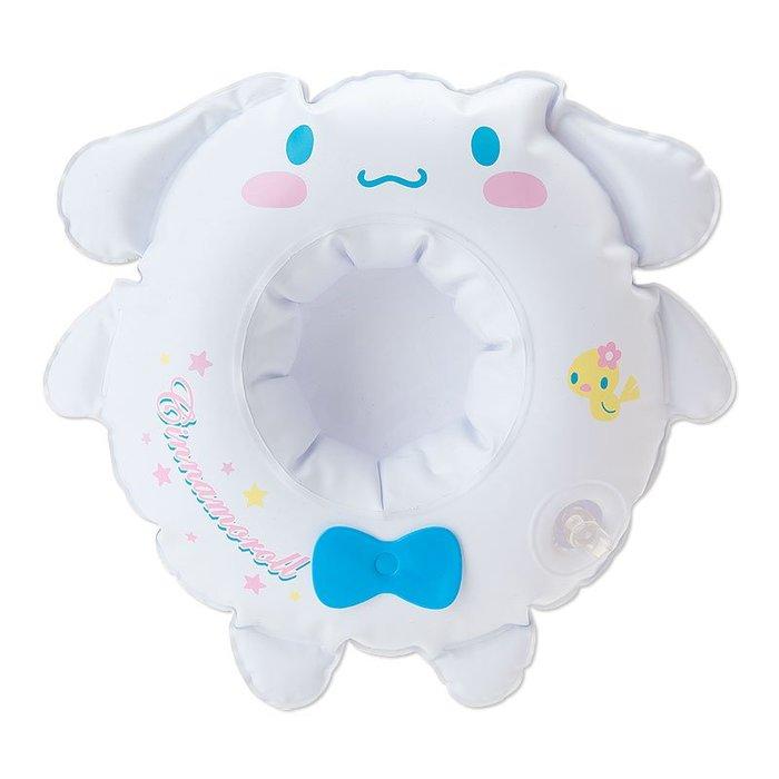 代購現貨 日本三麗鷗 kitty/大耳狗  充氣式游泳圈造型杯架