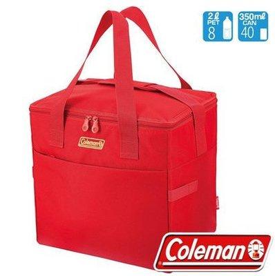 【山野賣客】Coleman CM-27237莓果紅 30L保冷手提袋 便當袋 母乳袋 行動冰箱 外出保冰購物袋 折疊冰桶 台北市