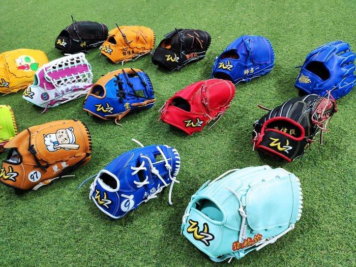貳拾肆棒球-WOODZ/WZ訂製硬式用棒壘手套....日本硬式牛革