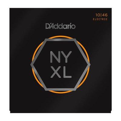 ☆唐尼樂器︵☆美國製公司貨 Daddario NYXL1046 (10-46) Nickel Wound 電吉他套弦