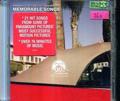*還有唱片四館* MEMORABLE SONGS 二手 D2755