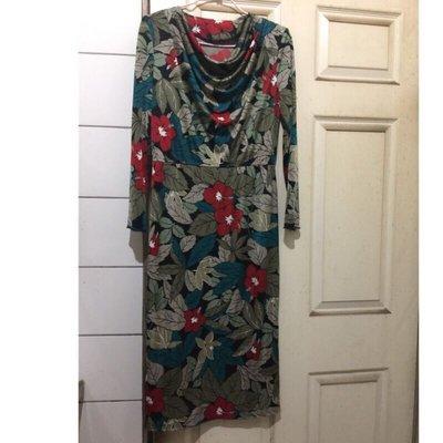 氣質洋裝、長洋裝、花朵洋裝、長袖洋裝、端莊洋裝、淑女洋裝、氣質裝、二手衣服、好看洋裝、便宜衣服、漂亮衣服、二手衣、專櫃洋裝、美麗洋裝