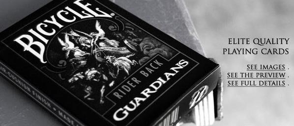 [T11] Theory11 Bicycle808撲克牌  Guardians守護天使撲克牌 ~ 超優質感花式紙牌必備