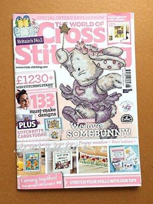 紅柿子【英文彩色版• Cross Stitching 十字繡作品集 Issue 218】特售50元‧