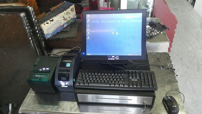 日發二手貨 POS機 收銀機 點餐機 觸控式POS機 主機 觸控螢慕  出單機 標籤機 零錢盒 二手餐飲設備收購