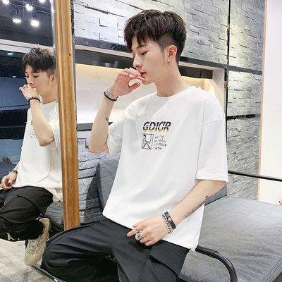 T恤 男裝 短袖男士t恤夏季2019新...