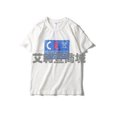 哆啦本鋪 夏季日系新款短袖T恤男190 D655
