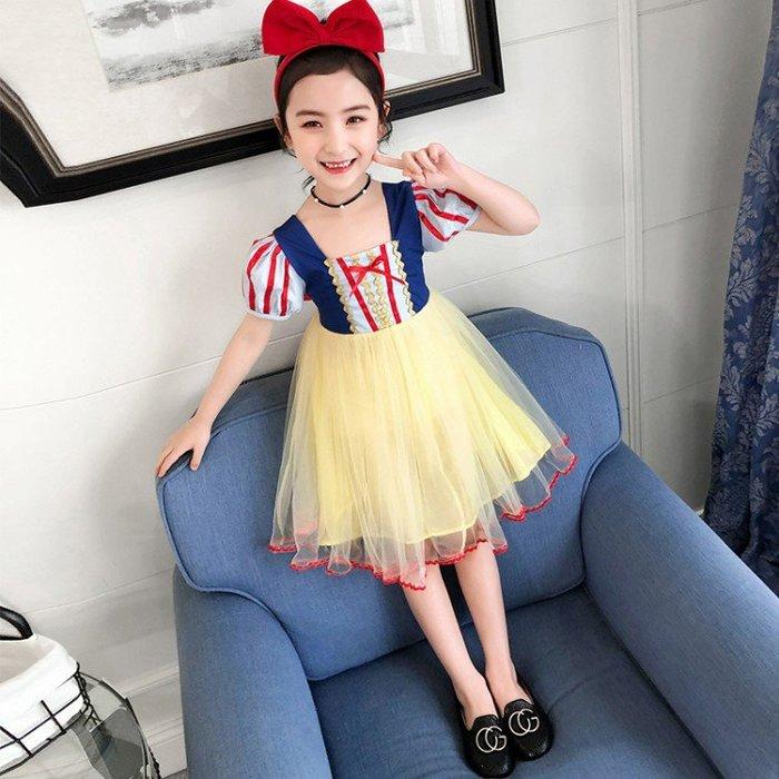 •*~ 辣媽咪衣飾小舖 ~*•❤童裝系列❤K050230韓版大童夏款甜美浪漫小女孩超仙網紗公主裙洋裝