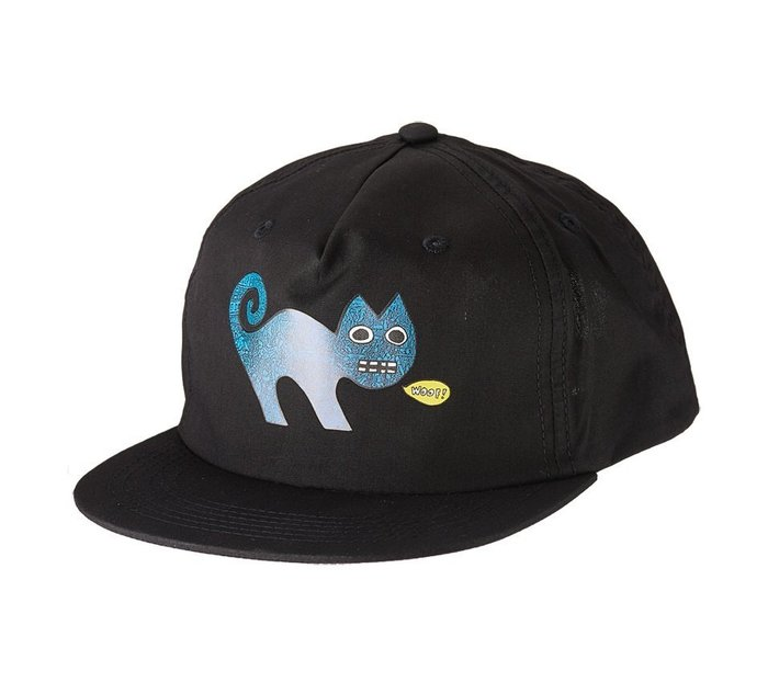 { POISON } TOY MACHINE ED TEMPLETON CAT SNAPBACK HAT 滑板藝術棒球帽