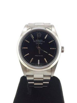 【益成當舖】流當品 寧夏夜市旁 勞力士ROLEX14000中型自動機械手錶 已結標勿拍
