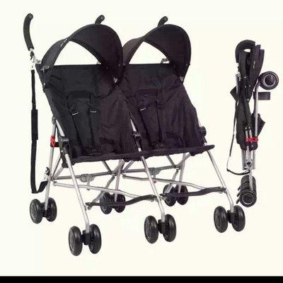 全新Cool kids超輕便 雙胞胎推車傘車正品日本品牌 4.9公斤 雙人大小寶推車 送原廠雨罩 旅行外出專用傘車