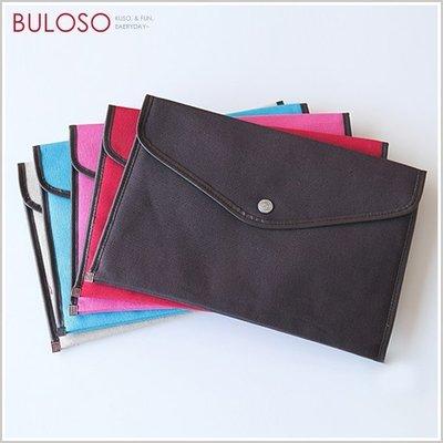 《不囉唆》韓國簡約 5色A4帆布公文包 資料袋/資料袋/檔案袋 (不挑色/款) 【A207447】