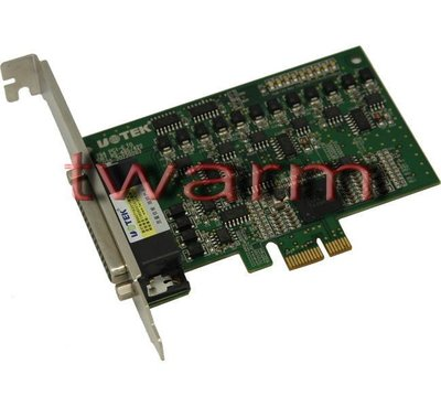 《德源科技》r)UT-794 4口RS485/422 PCI-E高速多串口卡