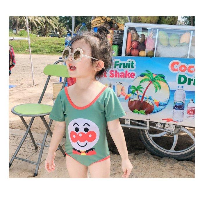 兒童泳衣 女童泳裝 女寶寶嬰幼兒1-2-3-4-5歲小童裙式連身泳裝#1569