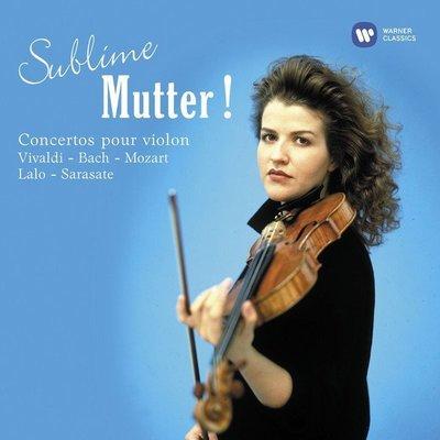 終極慕特‧EMI小提琴協奏曲錄音集 3CD Sublime Mutter ! / 慕特 Anne Sophie Mutter ---5099946458520