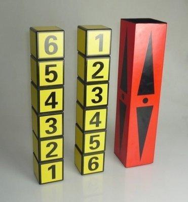 【意凡魔術小舖】魔術道具李佳峰-魔法積木 神奇 積木魔術 互動收藏聖品 骰子交換 舞台魔術