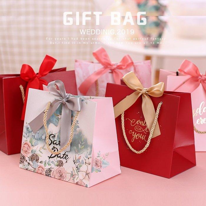 奇奇店-喜糖袋手提袋創意紙袋婚禮袋糖果禮盒結婚伴手禮品袋子高檔包裝盒#唯美 #立體浮雕 #歐式風格