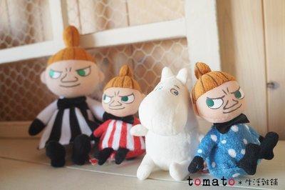 ˙TOMATO生活雜鋪˙日本進口雜貨嚕嚕米 小不點造型小小布偶裝飾拍照品(現貨)
