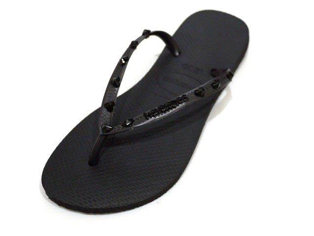 [Ralvi]全新超值-Havaianas(哈瓦仕)HARDWARE 系列  巴西夾腳拖/人字拖/拖鞋(女款)