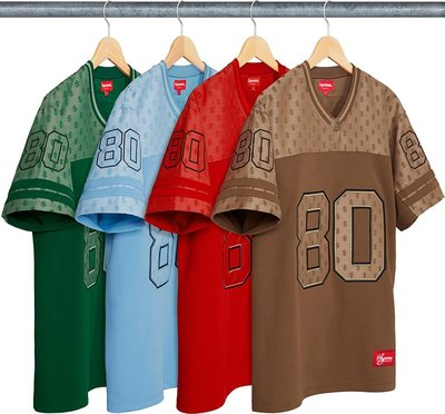 YZY台灣 | SS18 SUPREME MONOGRAM FOOTBALL LOGO JERSEY 球衣 4色 選一