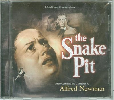 "蛇穴(The Snake Pit/Three Faces of Eve""- Alfred Newman,全新美版,36"