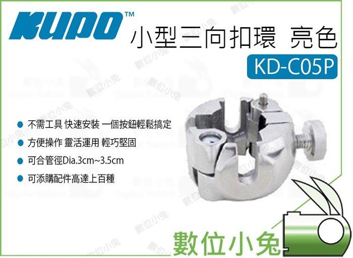 數位小兔【Kupo KD-C05P 小型三向扣環  亮色】Super Joint  配件 快速開合 扣環 中島系列