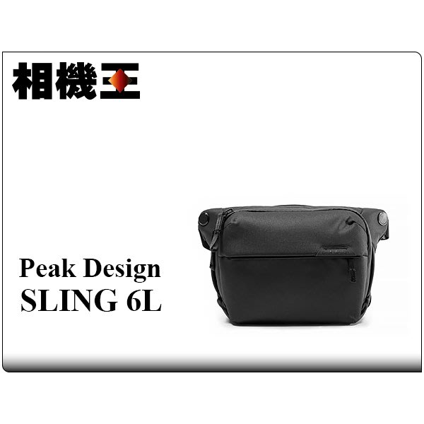 ☆相機王☆Peak Design Everyday Sling 6L V2 相機包 沉穩黑 (2)