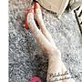 § 韓劇同款 宮廷日系公主風玫瑰花蕾絲花邊透膚絲襪 顯瘦絲襪 造型黑絲襪 假透膚褲襪 加厚保暖粒絨 刷毛絲襪假透膚§