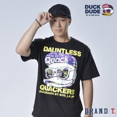 【Brand T】免運 達酷鴨 DUCK DUDE DAUNTLESS S/S TEE 黑色*鴨子*LOGO*短T
