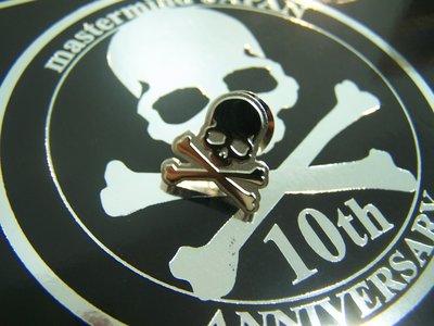 MASTERMIND JAPAN MMJ 10周年記念 銀色 別針