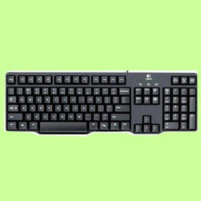 5Cgo【捷元】 羅技 K100 PS/2 鍵盤-2   Spill-resistant 防撥水設計  隨插即用一年保固
