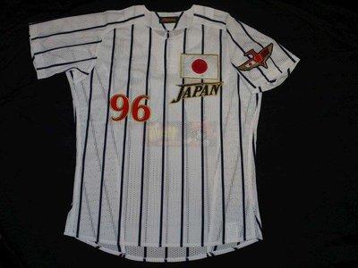 貳拾肆棒球--珍藏品!1996亞特蘭大奧運日本代表隊實戰球衣複刻版Mizuno日製
