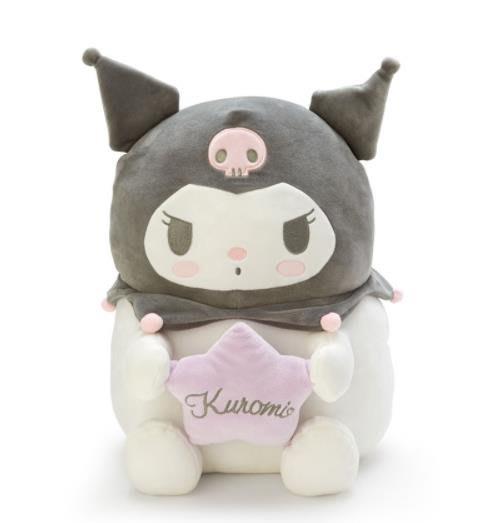 【莓莓小舖】正版 ♥ Sanrio 三麗鷗 Kuromi 酷洛米 抱枕 麻糬娃娃 玩偶