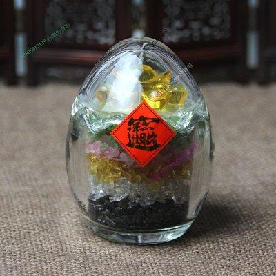 【宗教藝品】水晶五行七星元寶風水助運物 吉祥【tai_180826_159】