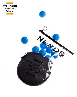 萌時尚小鋪 NERDS 乒乓球包斜挎包ping-pong