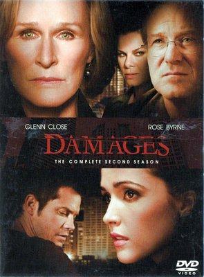 金權遊戲 Damages 第二季 葛倫克羅絲 DVD 3區 有中文字幕 再生工場3 03