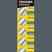 TOSHIBA 東芝 CR 2450 日本品牌