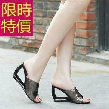 女款低跟拖鞋創意-明星款休閒夏季透氣女涼鞋子4色54l85[獨家進口][巴黎精品]