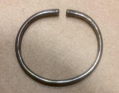 【小小的】~ 元代 老件 ~ [ 稀品 ] 雲南 昆明 元朝 銀手環