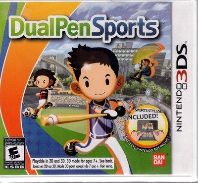 3DS美規專用遊戲 觸控 雙筆運動 Touch ! DoublePen Sports 美版【板橋魔力】