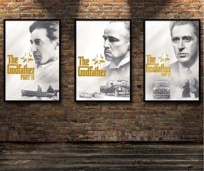 電影裝飾畫海報收藏馬龍白蘭度艾爾帕西諾...
