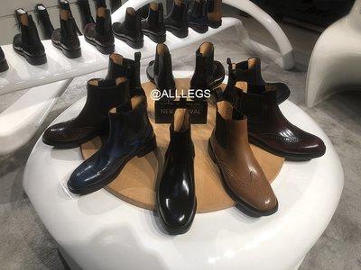 grandiose church短靴及裸靴切爾西女靴真皮女鞋雕花英倫馬丁靴s靚麗佳人