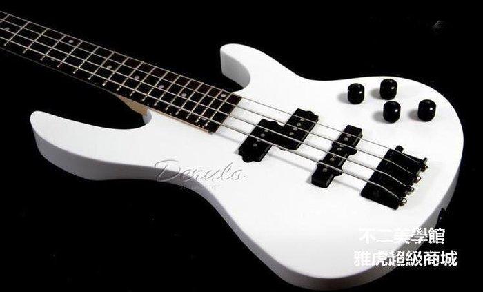 【格倫雅】^DRL Bass ero 電貝司 貝斯24品塊拾音器 貝斯 黑白可選 送朋