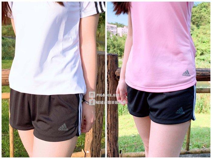 【豬豬老闆】ADIDAS D2M Knit Short 黑白 三線 運動短褲 短褲 熱褲 女 CV3341 DU3502