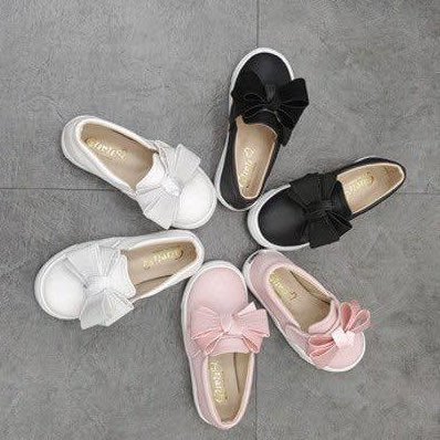 『※妳好,可愛※』 妳好可愛韓國童鞋 正韓 浪漫公主風 蝴蝶結休閒鞋 魔鬼氈休閒鞋 兒童休閒鞋  懶人鞋