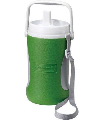 【山野賣客】美國Coleman1.89公升 野餐保冷水壺 水壺 冰桶 保冷 保溫(綠) CM-0450J