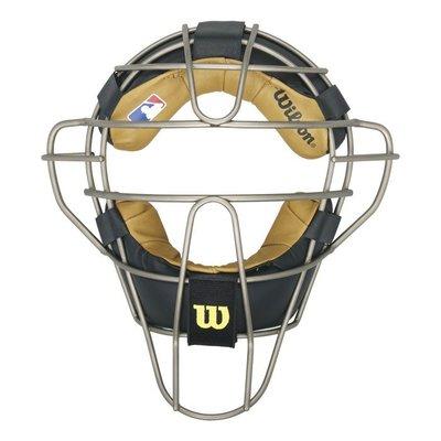 棒球世界Wilson   UMPIRE裁判鈦面罩  特價
