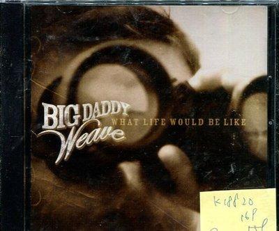 *真音樂* BIG DADDY WEAVE / WHAT LIFE WOULD BE LIKE 二手 K18820