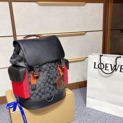 Coach/蔻馳 最新款 頂級貨 簡約時尚女包高端新品雙肩包大容量後背包潮包12RX190