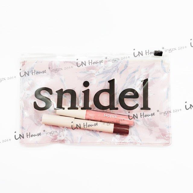 IN House*日本雜誌 附錄 春色 花柄花漾 夾鍊袋 化妝包 + 眼影 唇彩 美妝 3件組